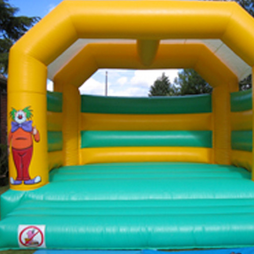 A Frame Clown Bouncy Castle