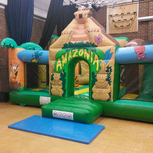 Bouncy Castle / Combo With Slide