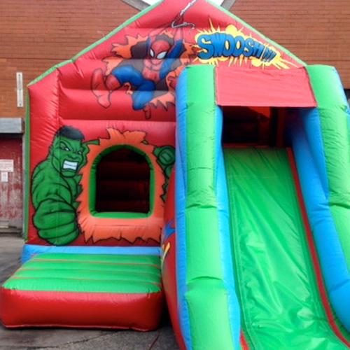 Superhero Bounce and Slide