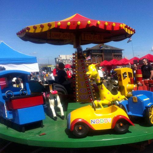 Toy Set Merry Go Round