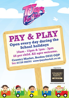 We back at the country market bordon May half term, Come and join lots of fun and games open everyday ! 28th May -4th june